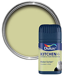 Dulux Kitchen Melon Sorbet Matt Emulsion Paint 50ml