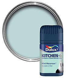 Dulux Kitchen Mint Macaroon Matt Emulsion Paint 50ml