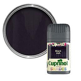 Cuprinol Garden Black Ash Matt Wood Paint 50ml