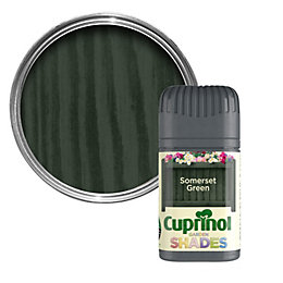 Cuprinol Garden Somerset Green Wood Paint 50ml Tester