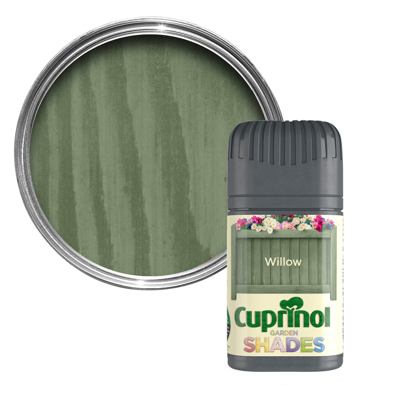 Paint Tester cuprinol garden shades willow matt wood paint 0.05l tester pot