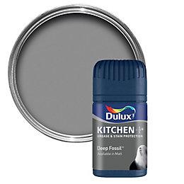 Dulux Kitchen Deep Fossil Matt Emulsion Paint 50ml