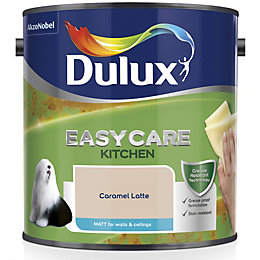 Dulux Kitchen Caramel Latte Matt Emulsion Paint 2.5L