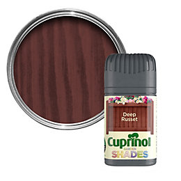 Cuprinol Garden Deep Russet Matt Wood Paint 50ml