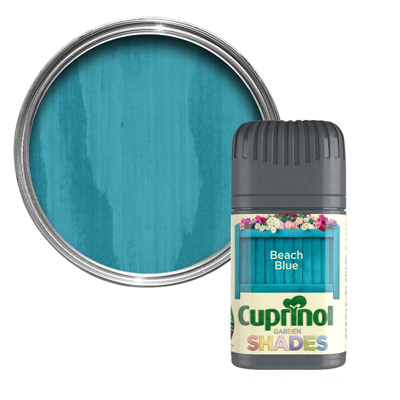 Cuprinol Garden Shades Beach Blue Matt Wood Paint Departments Diy At B Q