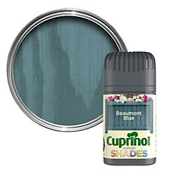 Cuprinol Garden Beaumont Blue Wood Paint 50ml Tester
