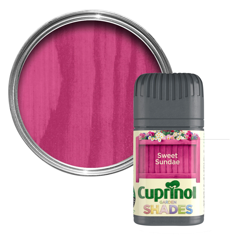 Cuprinol Garden Shades Sweet Sundae Matt Wood Paint 0.05l