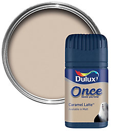Dulux Caramel Latte Matt Emulsion Paint 50ml Tester