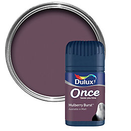 Dulux Mulberry Burst Matt Emulsion Paint 50ml Tester