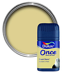 Dulux Fresh Stem Matt Emulsion Paint 50ml Tester