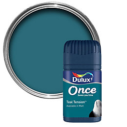 Dulux Teal Tension Matt Emulsion Paint 50ml Tester