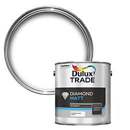 Dulux Trade Diamond Pure Brilliant White Matt Emulsion