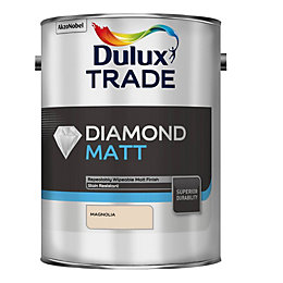 Dulux Trade Diamond Magnolia Smooth Matt Emulsion Paint