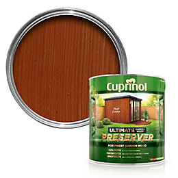 Cuprinol Ultimate Red Cedar Garden Wood Preserver 4L