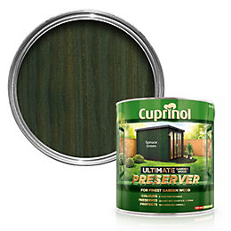 Cuprinol Ultimate Spruce Green Matt Garden Wood Preserver