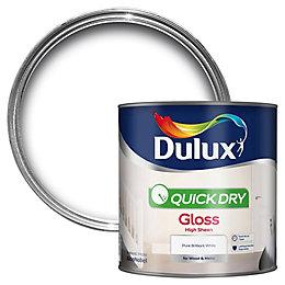 Dulux Interior Pure Brilliant White Gloss Wood &