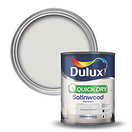 Dulux Interior Polished Pebble Satinwood Wood & Metal