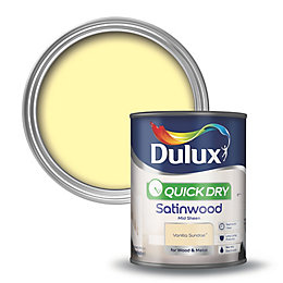 Dulux Quick Dry Internal Vanilla Sundae Satinwood Paint