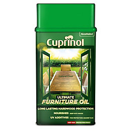 Cuprinol Ultimate Clear Natural Furniture Oil 1L