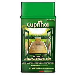 Cuprinol Ultimate Furniture Oil Mahogany Natural Furniture Oil