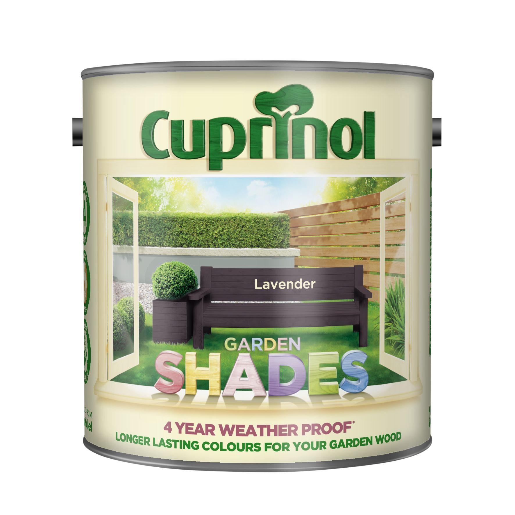 Cuprinol Garden Shades Lavender Matt Wood Paint 5L