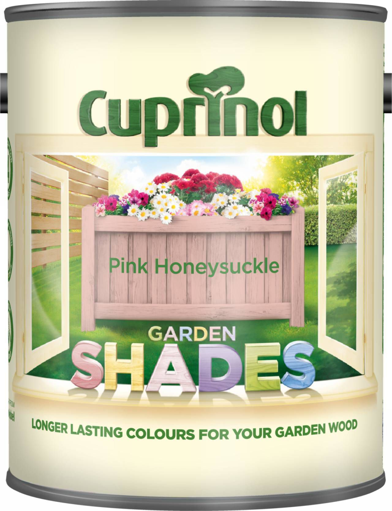 Cuprinol Garden Shades Pink Honeysuckle Matt Wood Paint 1l
