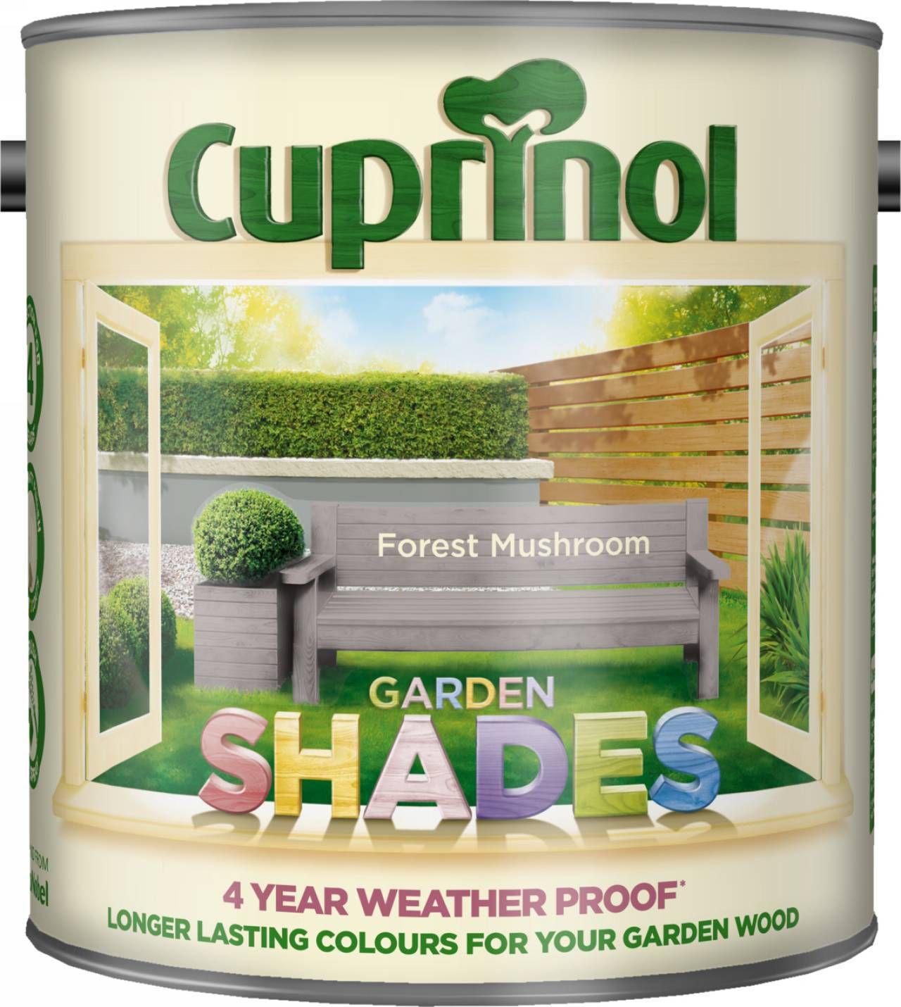 Cuprinol Garden Shades Forest Mushroom Matt Wood Paint 2 5l Departments Diy At B Q