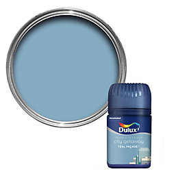 Dulux Travels In Colour Teal Façade Blue Flat