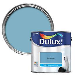 Dulux Standard Nordic Sky Matt Paint 2.5L