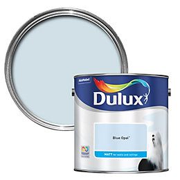 Dulux Blue Opal Matt Emulsion Paint 2.5L
