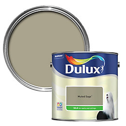 Dulux Standard Muted Sage Silk Paint 2.5L