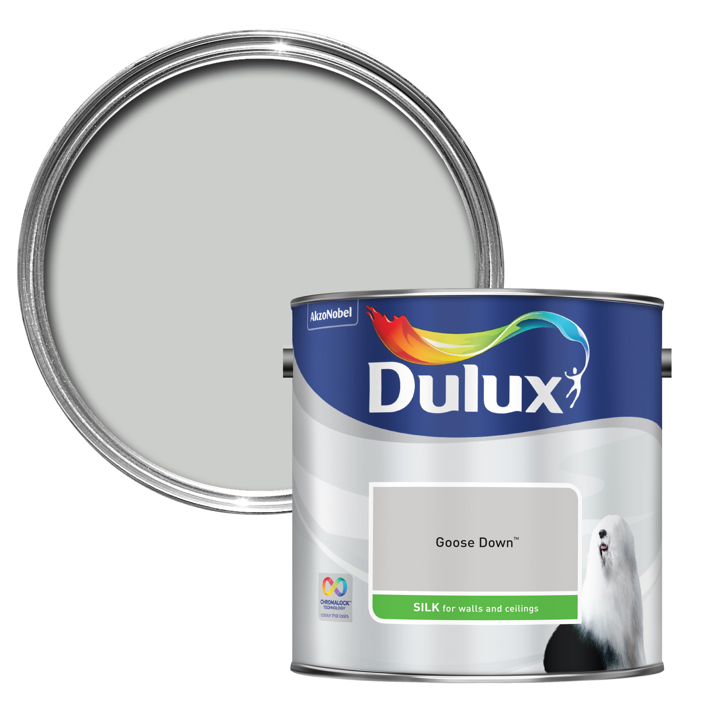 Dulux Standard Goose Down Silk Wall & Ceiling Paint 2.5l