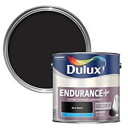 Dulux Endurance Rich Black Matt Paint 2.5L