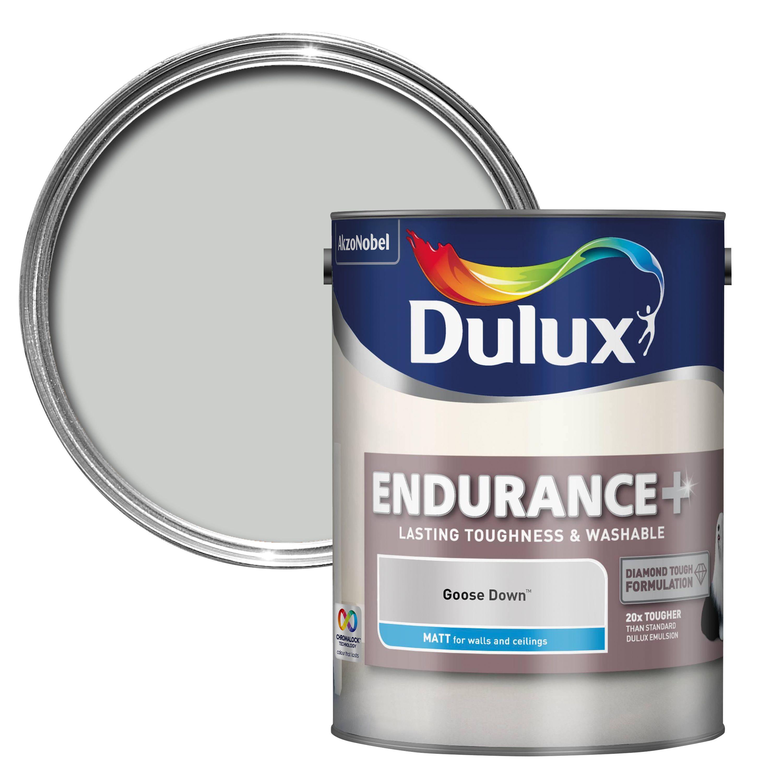 Dulux Endurance Goose Down Matt Wall & Ceiling Paint 5l
