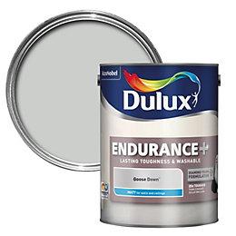 Dulux Endurance Goose Down Matt Paint 5L