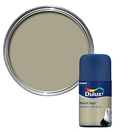 Dulux Muted Sage Matt Paint 0.05L Tester Pot