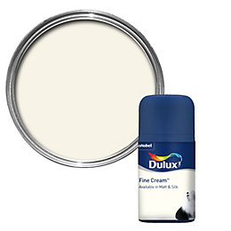 Dulux Standard Fine Cream Matt Paint 50ml Tester