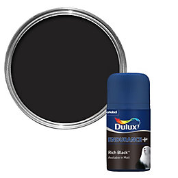 Dulux Endurance Rich Black Matt Paint 50ml Tester