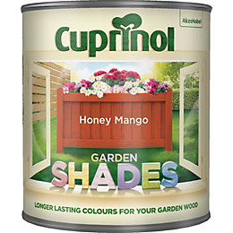 Cuprinol Garden Honey Mango Matt Garden Wood Paint
