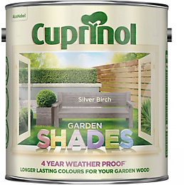 Cuprinol Garden Silver Birch Natural Texture Of The