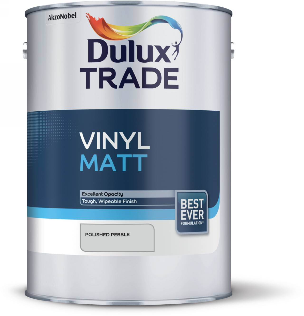 Dulux Trade Polished Pebble Matt Vinyl Paint 5l