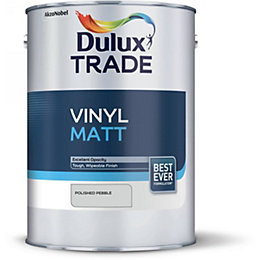 Dulux Trade Polished Pebble Matt Vinyl Matt 5L