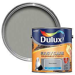 Dulux Easycare Warm Pewter Matt Emulsion Paint 2.5L