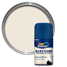 Dulux Easycare Almond White Matt Emulsion Paint 0.05L