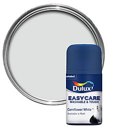 Dulux Easycare Cornflower White Matt Emulsion Paint 0.05L
