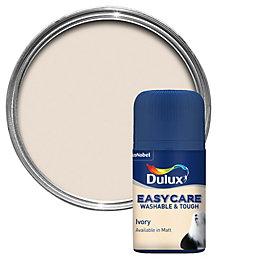 Dulux Easycare Ivory Matt Emulsion Paint 0.05L Tester
