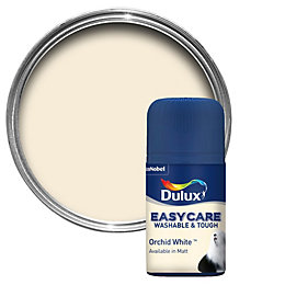 Dulux Easycare Orchid White Matt Emulsion Paint 50ml