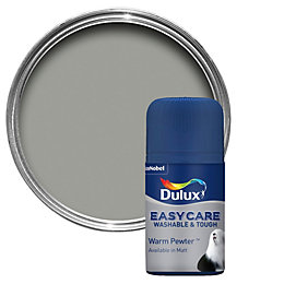 Dulux Easycare Warm Pewter Matt Emulsion Paint 50ml