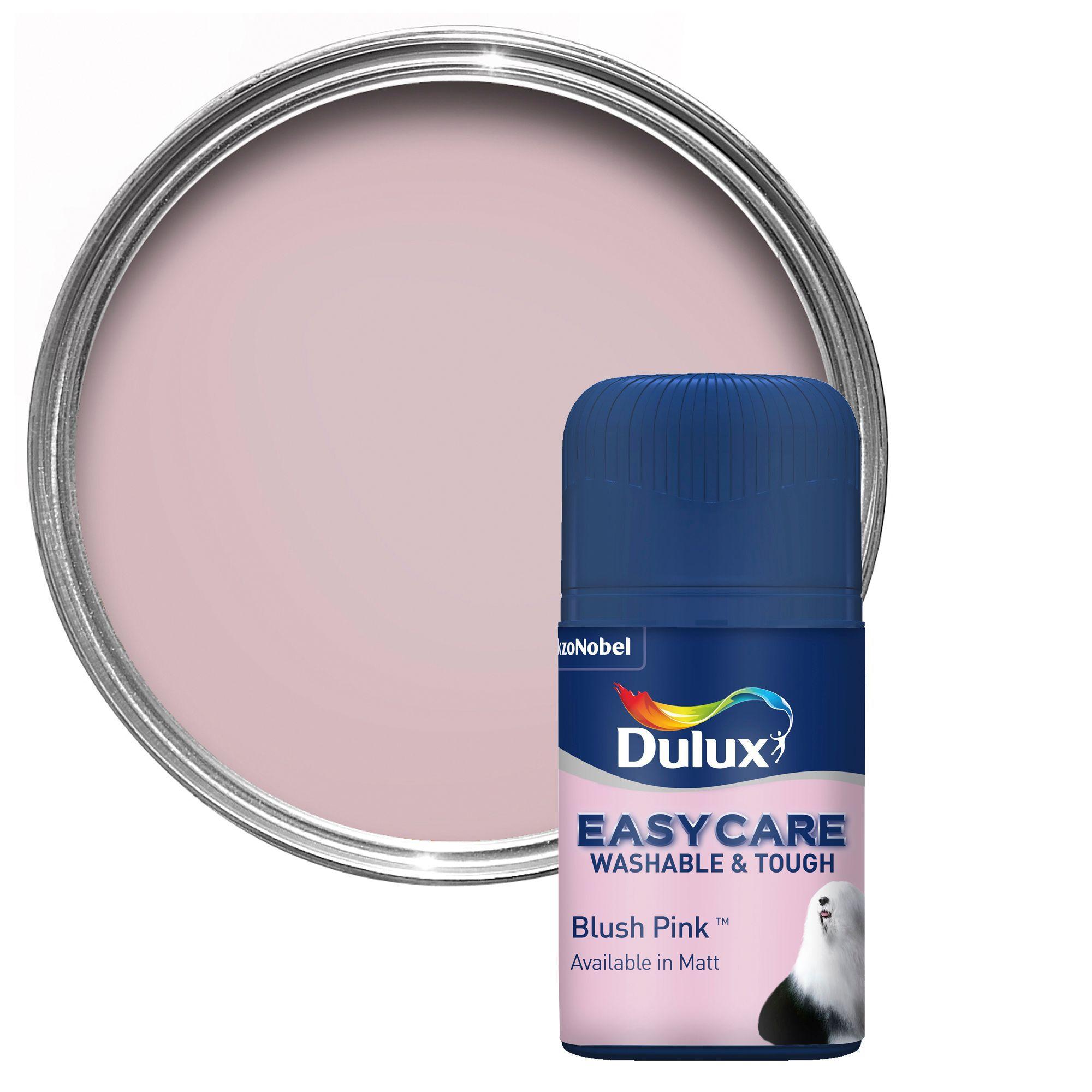 Dulux Easycare Blush Pink Matt Emulsion Paint 0 05l Tester