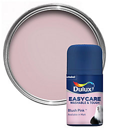 Dulux Easycare Blush Pink Matt Emulsion Paint 0.05L